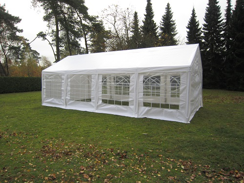 partyzelt pavillon 3x6 4x10m profizelt festzelt 240g m plane stahlgestell ebay. Black Bedroom Furniture Sets. Home Design Ideas