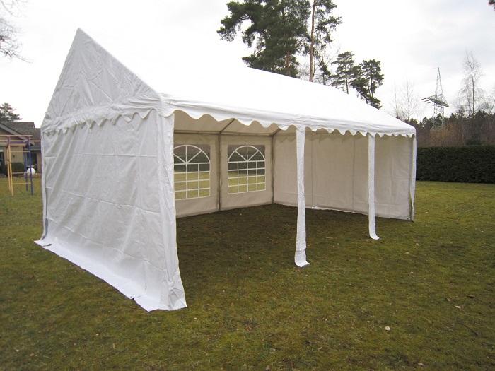 xxl partyzelt 3x4 5x8 m pavillon festzelt 500g m pvc. Black Bedroom Furniture Sets. Home Design Ideas