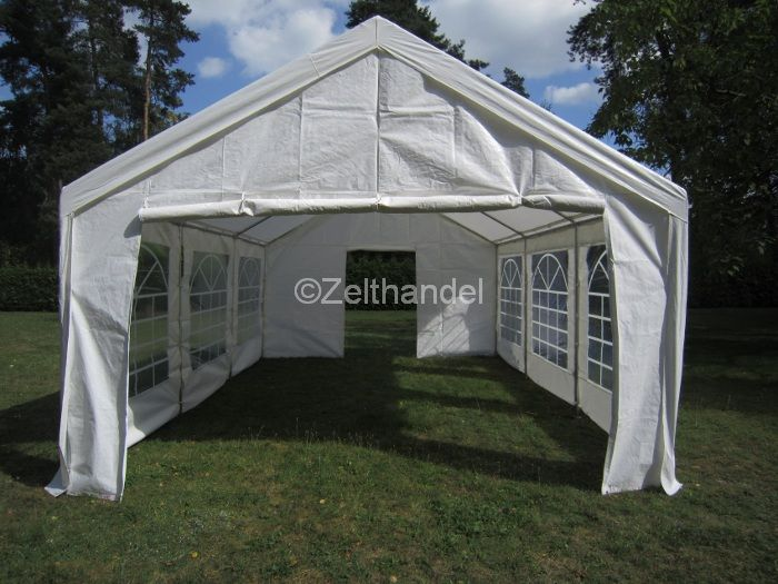 partito tenda gazebo 4x6 m tenda tendone gazebo gazebi da giardino ebay. Black Bedroom Furniture Sets. Home Design Ideas