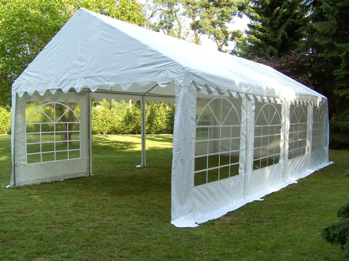 xxl 3x6 5x8 m tente de r ception fumer pavillon jardin pvc neuf ebay. Black Bedroom Furniture Sets. Home Design Ideas