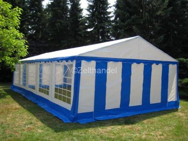 Partyzelt 5x12 m blau