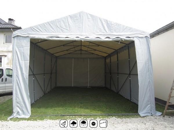 Lagerzelt 4x6m 3m Einfahrtshöhe, PVC wetterfest