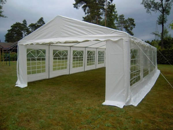 Partyzelt 5x12 PE 240g/m² weiß
