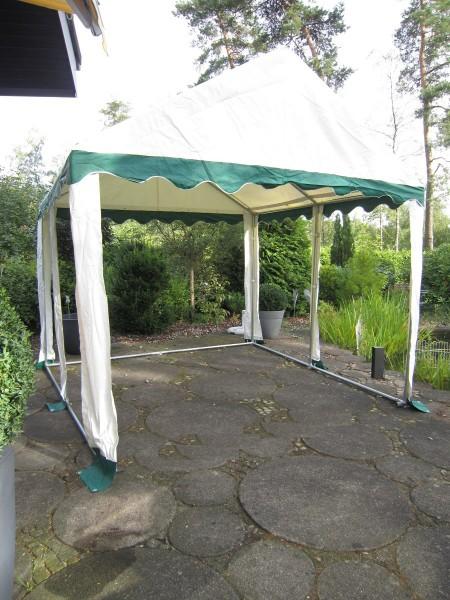 Dachplane 3x4m PVC grün-weiß