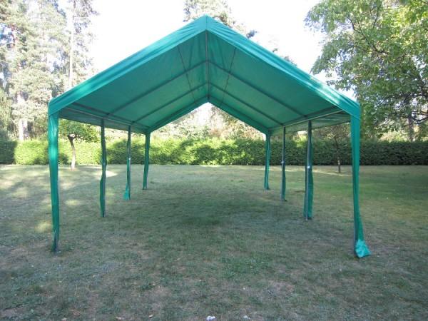 Zeltdach PE 4x6m grün