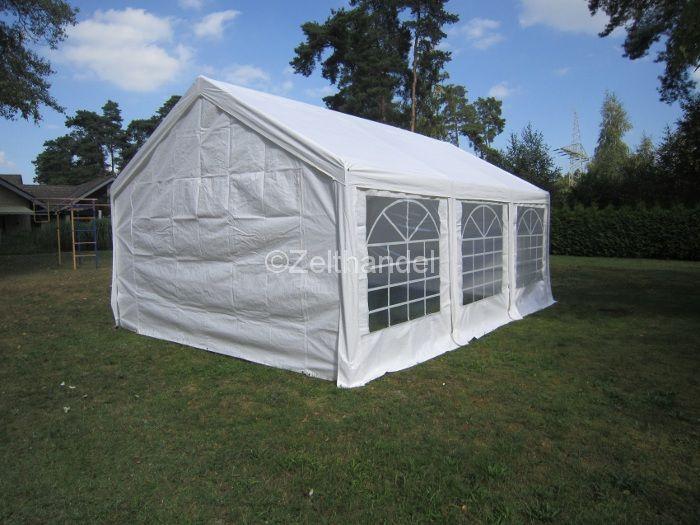 Stabiles Gartenzelt PE 4x6m online kaufen |