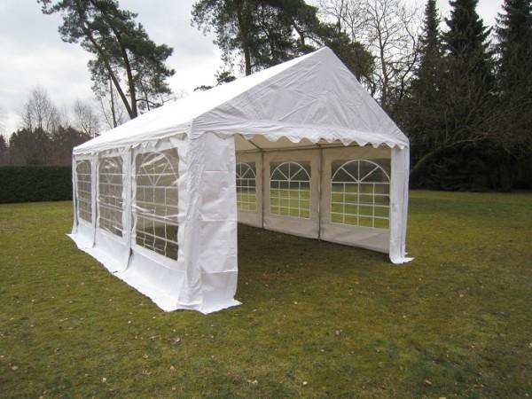 4x6m Partyzelt weiß von Zelthandel.de