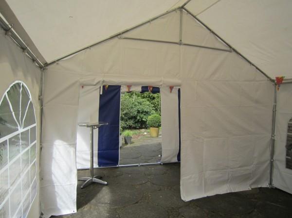 Trennwand für Partyzelt in PVC