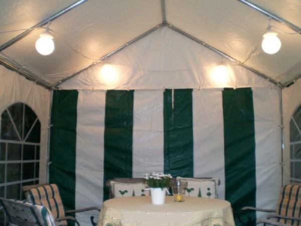 Zeltbeleuchtung für Pavillon Partyzelt 4-teilig