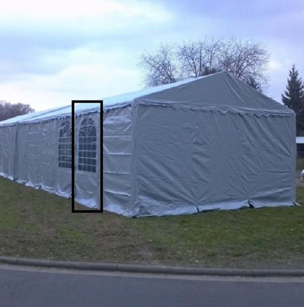 Zelt-Seitenwand Lagerzelt XXL 3x2m grau Fenster