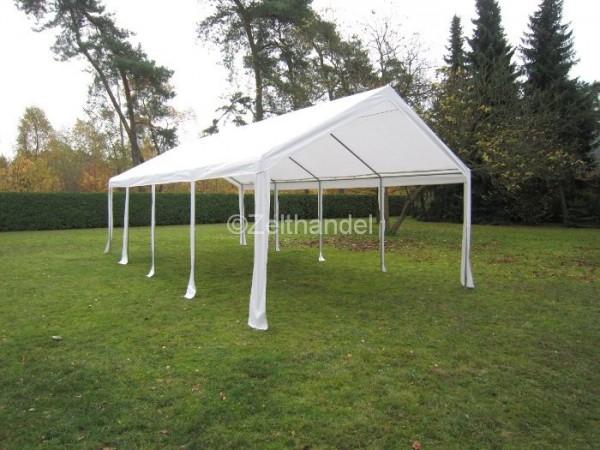Zeltdach PE 4x8m weiß