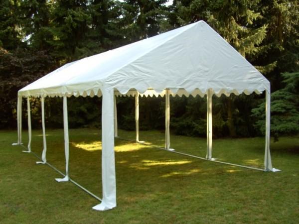 Dachplane für Partyzelt 5x10 m weiß PVC