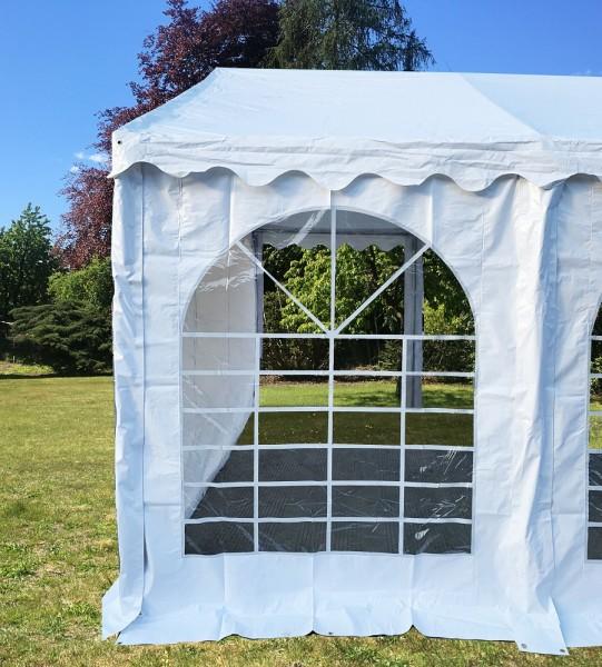 Zeltseitenwand PVC weiß für 2,30m Zelte