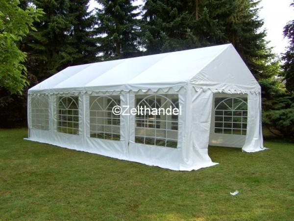 4x8 m Zelt weiß