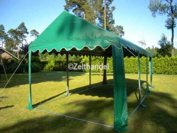 Zelt-Dach PVC 4x8m grün