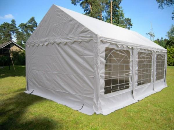 3x6m Partyzelt PVC weiß