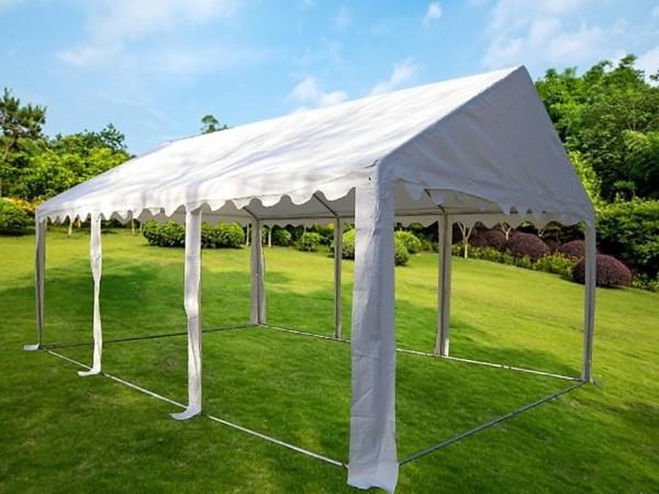 Ersatzdachplane 3x6m PVC weiß für Zelt