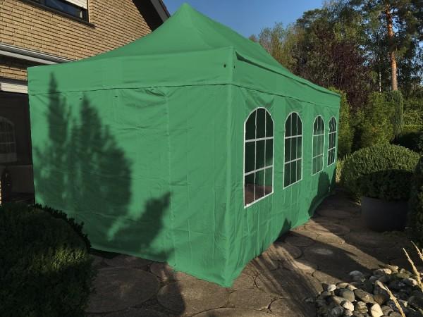 stabiles Faltzelt 3x6m mit Alu Gestell grün