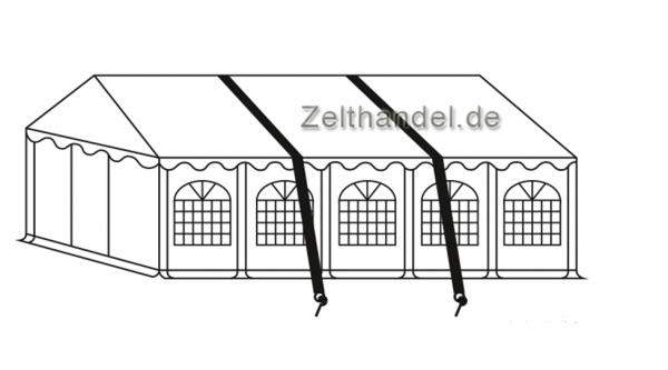 Sturmsicherung Zelt für weichen Untergrund