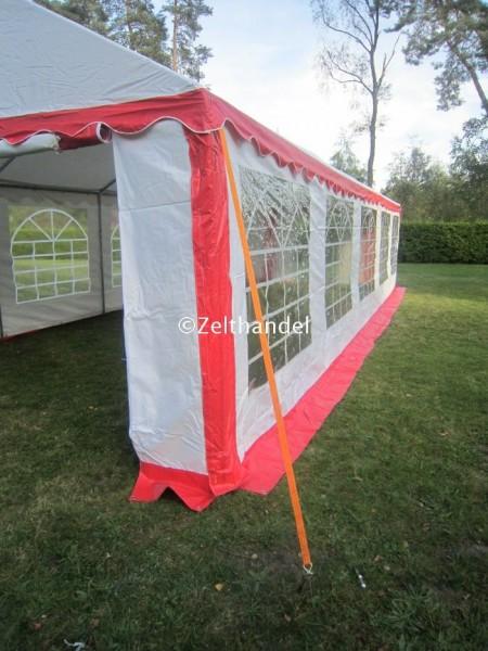 Spanngurte für die Zeltbefestigung
