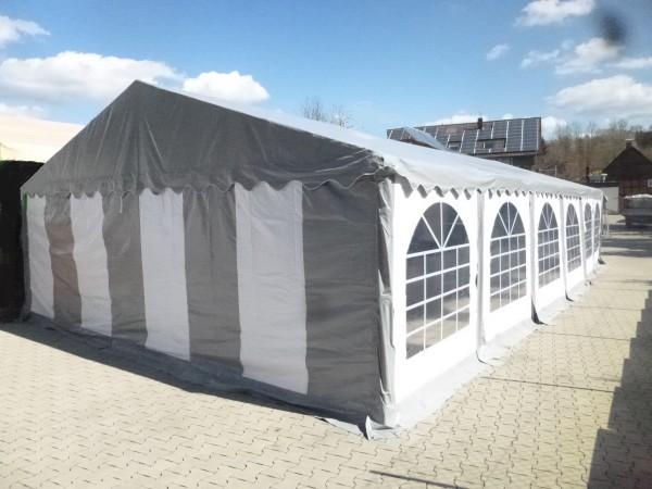 6x12m Dachplane grau PVC