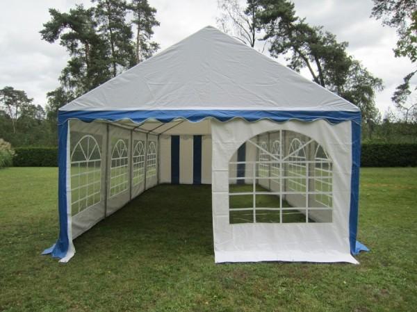 Giebelwand mit Fenster für 4m Zelt