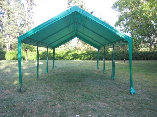 Zeltdach 3x6, PE grün
