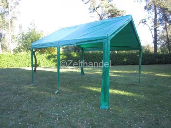 Zeltdach 4x4m, PE grün