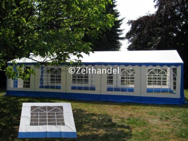 Zelt-Seitenwand (eckige Fenster)