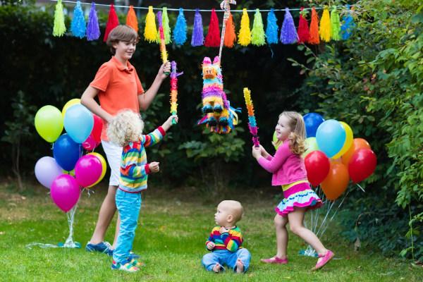 Sommerfest-Kinder