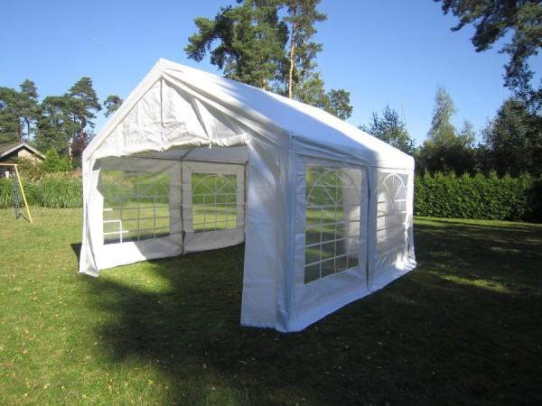 Zeltdach 4x4m, PE 240g weiß
